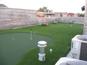 rooftop artifiical turf putting greens