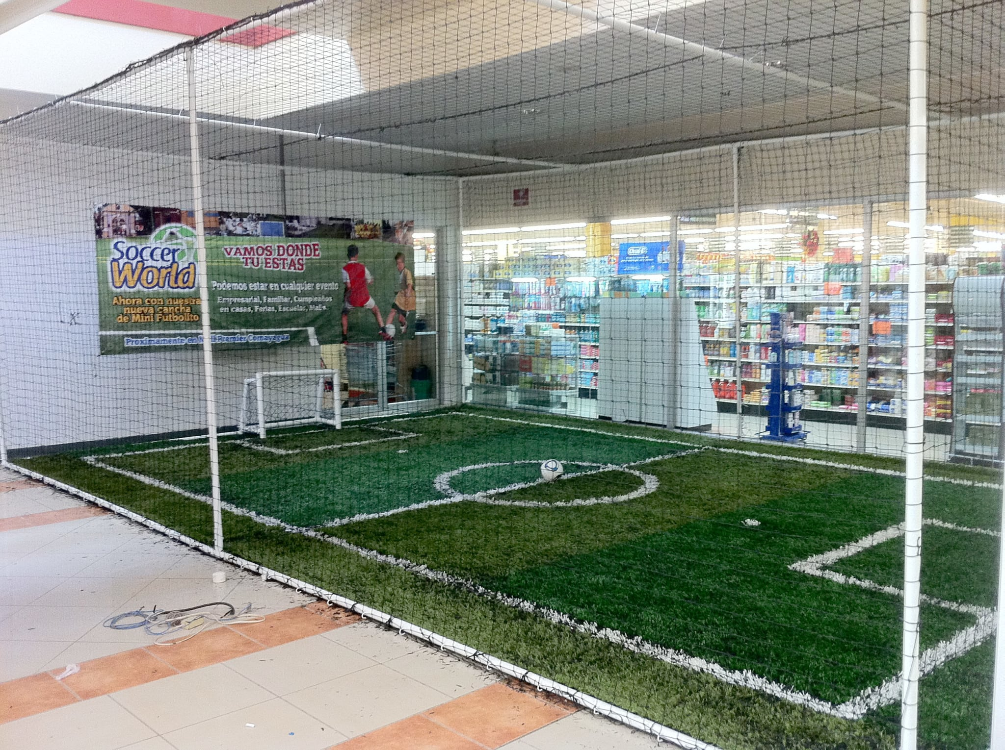 indoor soccer business plan